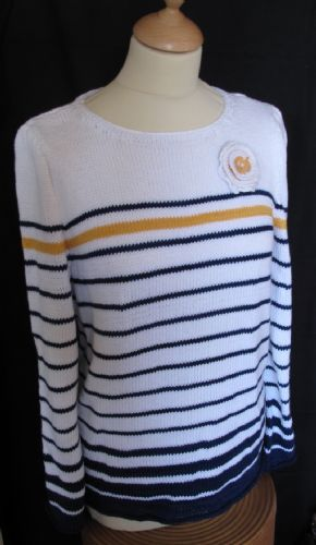 Breton  top - Pattern only